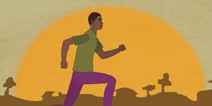 2d medical animation ARV vs HIV