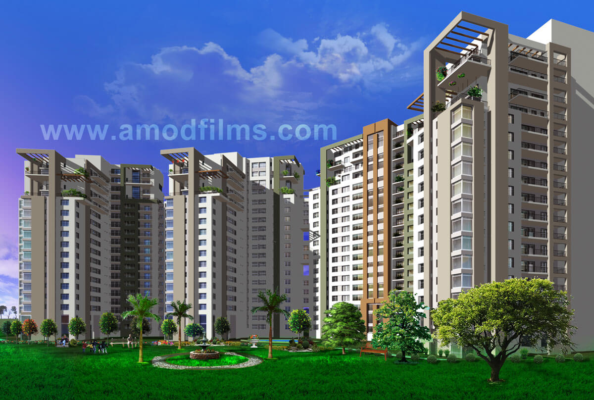 3d walkthrough real estate amod films india for 3d walkthrough